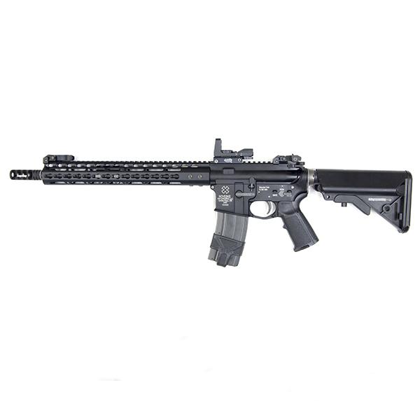 WA GAS-BLK M4 NOVESKEタイプ カスタム フルメタル ガスブローバック ドットサイト付き!_画像1