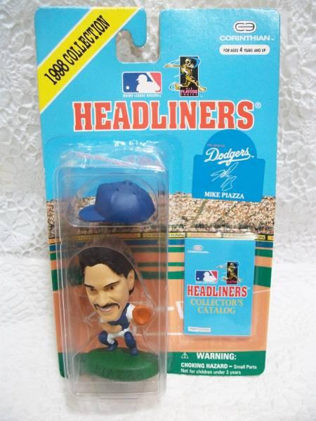 HEADLINERSフィギュア MLBドジャース マイク・ピアッツァ グッズの画像