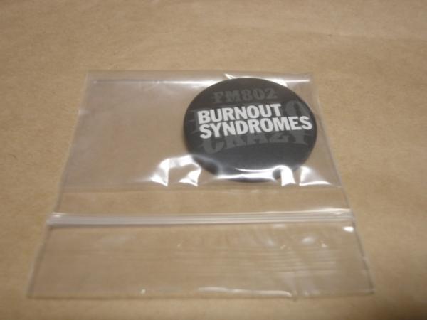 [グッズ] RADIO CRAZY 2016 バッジ BURNOUT SYNDROMES (非売品) / バーンアウト シンドロームズ 缶バッチ