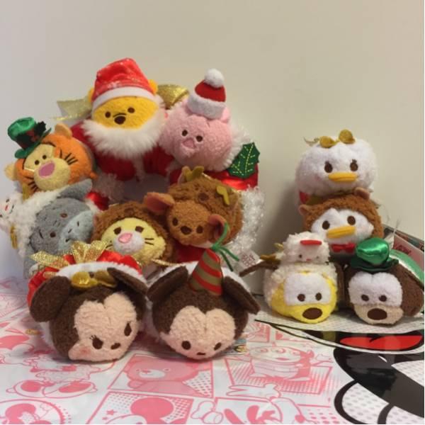 完売 ディズニー ストア ツムツム クリスマス リース イーヨー ディズニーグッズの画像
