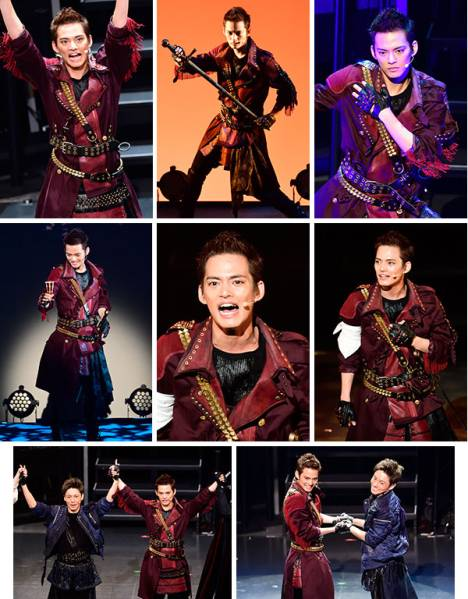 中山優馬 A NEW MUSICAL CROSS HEART 生写真26枚