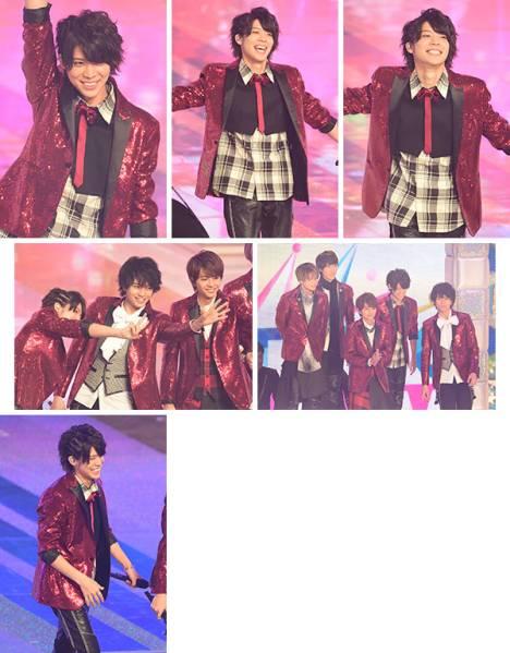 松島 聡 MUSIC STATION SUPER LIVE 2016 生写真6枚