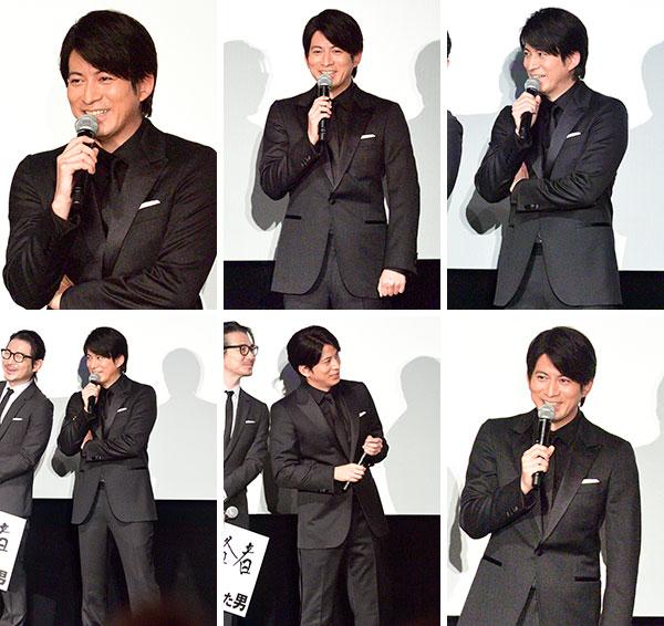 岡田准一 V6 海賊とよばれた男 初日舞台挨拶 生写真10枚