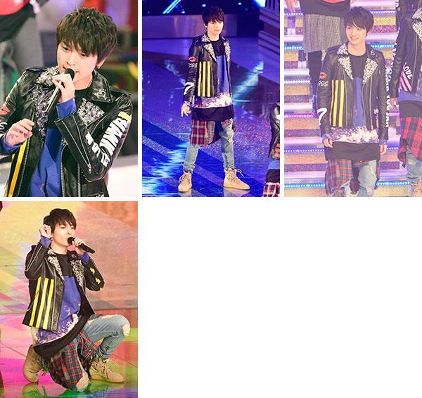 玉森裕太 MUSIC STATION SUPER LIVE 2016 生写真10枚