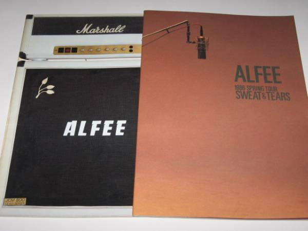 THE ALFEE(ジ・アルフィー)ツアーパンフレット2冊/1985,1986