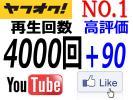 其它 - 【ヤフオクNo1】★YouTube 再生回数4000回+高評価90★定期割引!