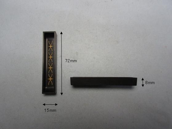 72mm/戸引手/引き手/引手/YAMAICHI/ペリー/黒_画像2