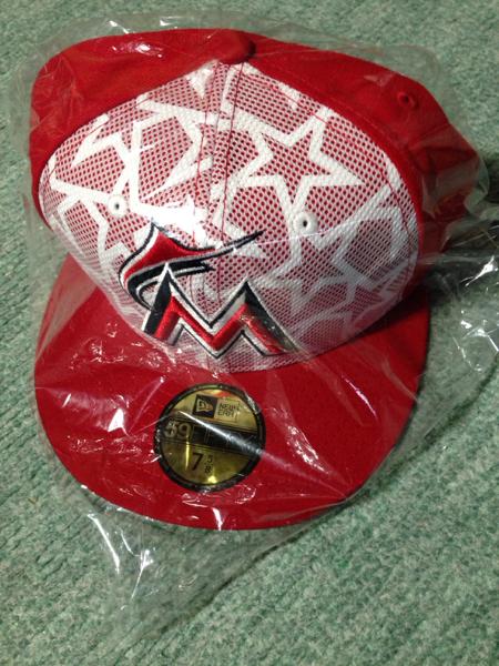 イチロー 田沢選手 MLBマイアミマーリンズのCAP 60.6cm グッズの画像