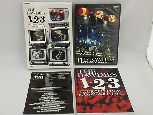 THE BAWDIES 1-2-3 TOUR 2013 FINAL at大阪城ホール(初回限定版) ライブグッズの画像