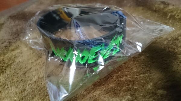MONOEYES ラバーバンド 新品未使用 緑×黒