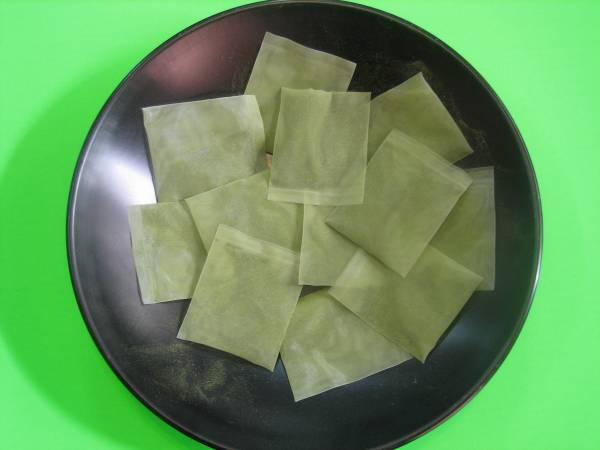 水出し茶ティーバッグ緑茶3g×12パック×3袋_3gナイロンティーバッグ