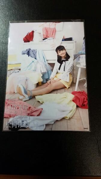 HKT48 松岡はな カレンダー生写真 楽天