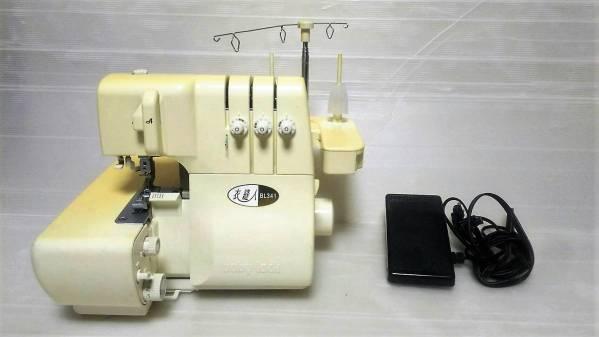 [122] JUKI 衣縫人 BL341 ロックミシン