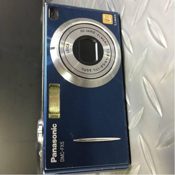 ssy7220 ★Panasonic LUMIX DMC-FX5 パナソニック ルミックス