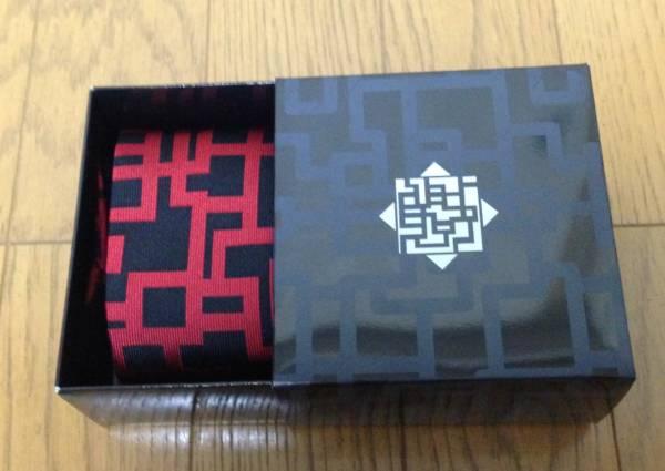 ★【新品未使用】布袋寅泰 HOTEI「ネクタイ RED LINE」★