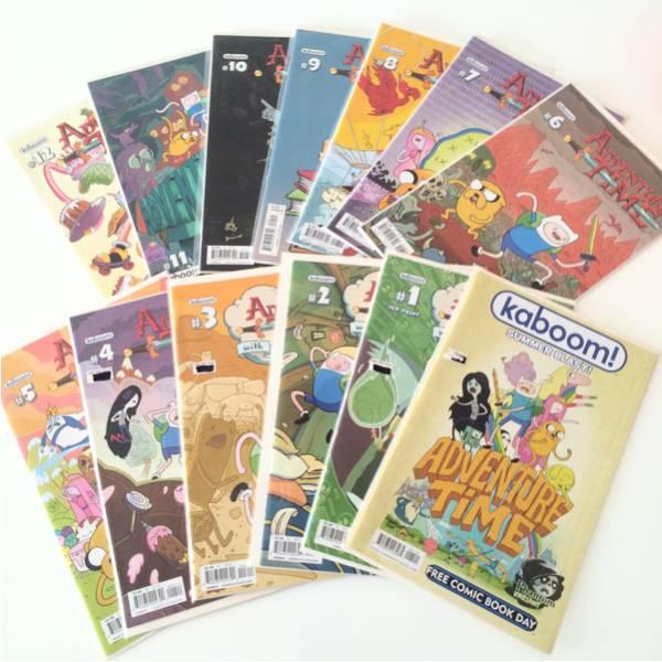 アドベンチャータイム コミック 13冊セット グッズの画像