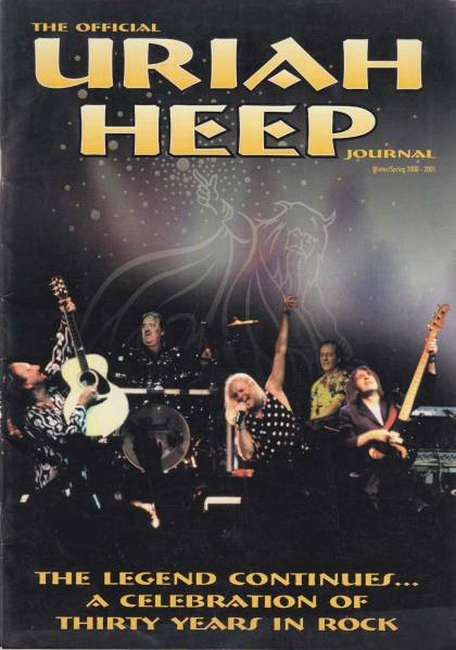 Uriah Heep Journal 2000-2001 Winter ファンクラブ会報