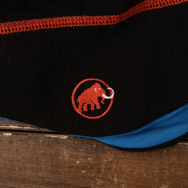 良品 マムート Mammut ニット帽 登山 アウトドア 9118_画像3
