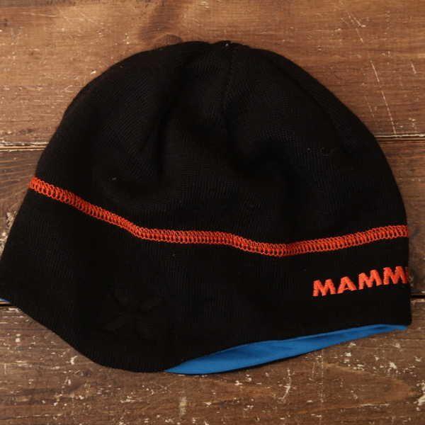 良品 マムート Mammut ニット帽 登山 アウトドア 9118_画像2