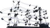 送料無料 大人も楽しめる 無限ループ スペースレール パズル コース 組み立て インテリア 知育 脳トレ レベル3 ボール コースター ZA-196