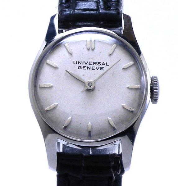 特価!ヴィンテージ1970年代製UNIVERSAL GENEVEユニバーサル ジュネーヴ手巻きレディスウォッチ
