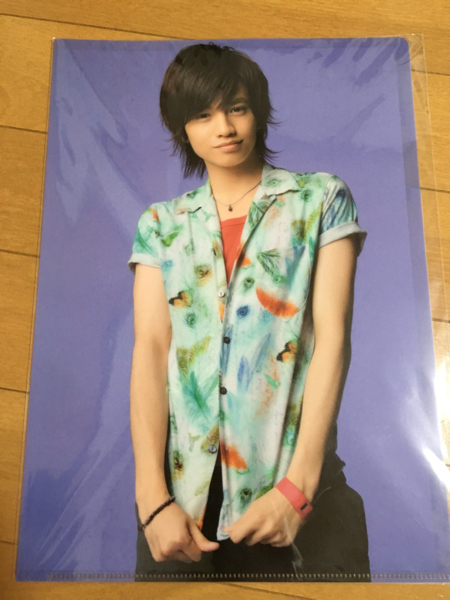 SexyZone★中島健人クリアファイルSUMMARY 2012★セクゾサマリー