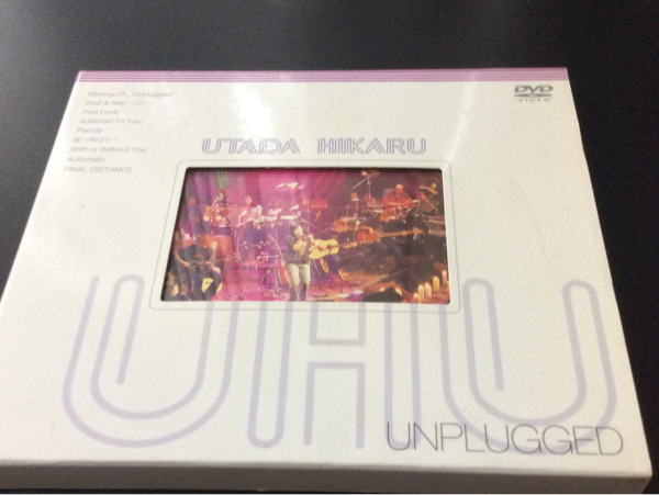 宇多田ヒカル UNPLUGED DVD ライブグッズの画像