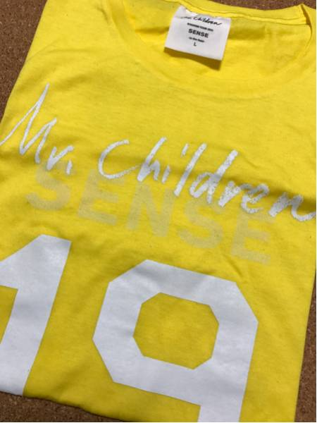 Mr.Children 2011「SENSE」Tシャツ(L)