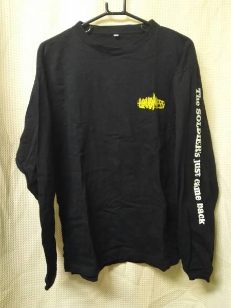 01バンドTシャツ ラウドネスL長袖