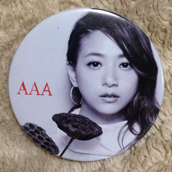 AAA 伊藤千晃 ドーム公演会場購入特典 缶バッジ 新品!
