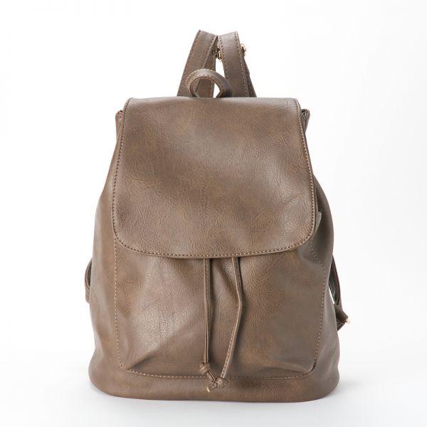 ★1円~★ 新品 高品質 レザー リュックサック 鞄 レザー 茶 ブラウン レディース 女性