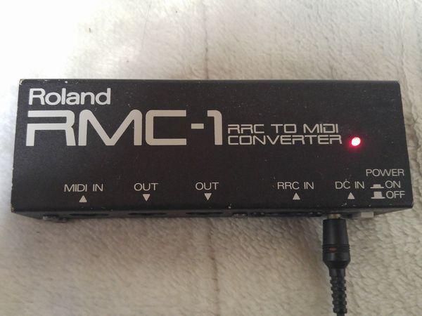 Roland RRC to MIDI コンバーター RMC-1