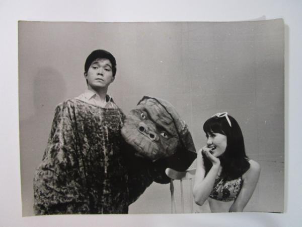 ドラマ うちの大物 坂本九 山本リンダ スチール写真 1967