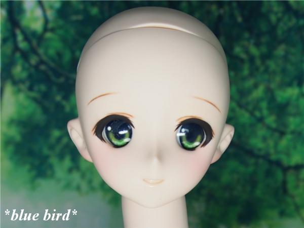 *blue bird* DDH08ヘッドカスタム ノーマル肌+アイ2種_画像3