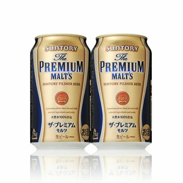 サントリー ザ プレミアムモルツ 350ml×24本 生ビール 天然水 BEER 酒 ブランド_画像1