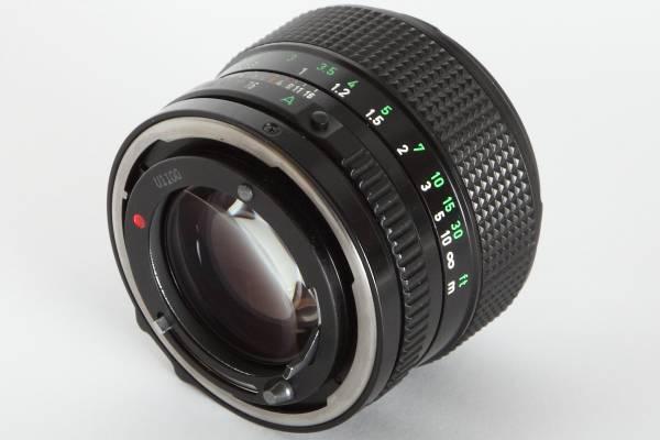★美品★Canon キヤノン NEW FD 50mm F1.2 明るい単焦点