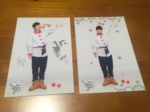 GOT7 1st ファンミ LOVE TRAIN トレカ Jr.(ジニョン) 2枚セット