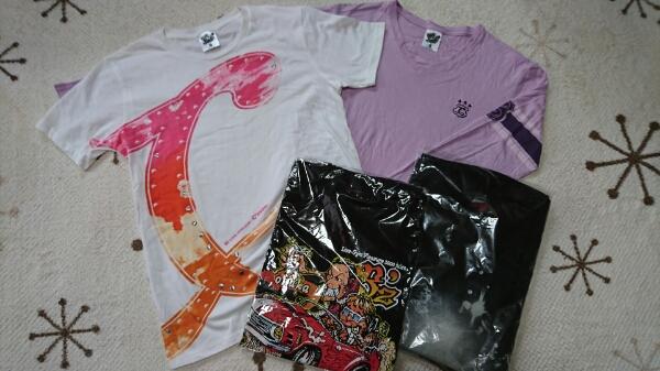B'z ツアーTシャツ 新品・美品 4枚セット