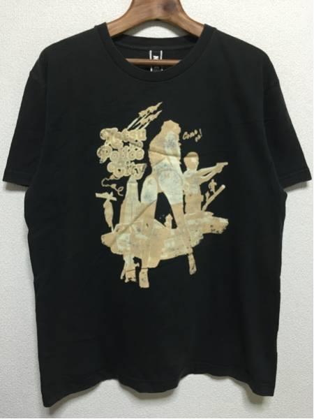 [即決古着]ケツメイシ/KTM/ケツノポリス/2008ツアーTシャツ/黒/L