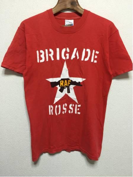 [即決古着]SCREEN STARS/THE CLASH/ザ・クラッシュ/BRIGADE ROSSE/Tシャツ/バンドT/ヴィンテージ/赤/レッド/S