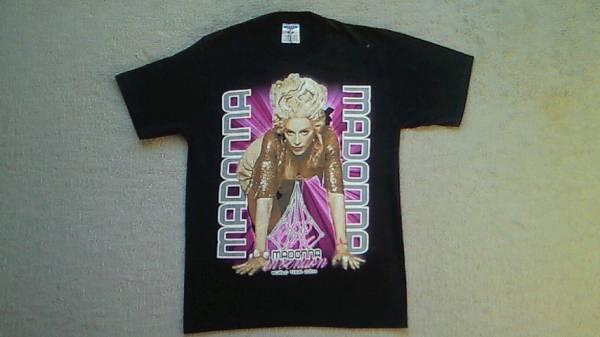 MADONNA マドンナ Re invention ワールドツアー 2004 ロック バンド Tシャツ USA古着 ライブグッズの画像