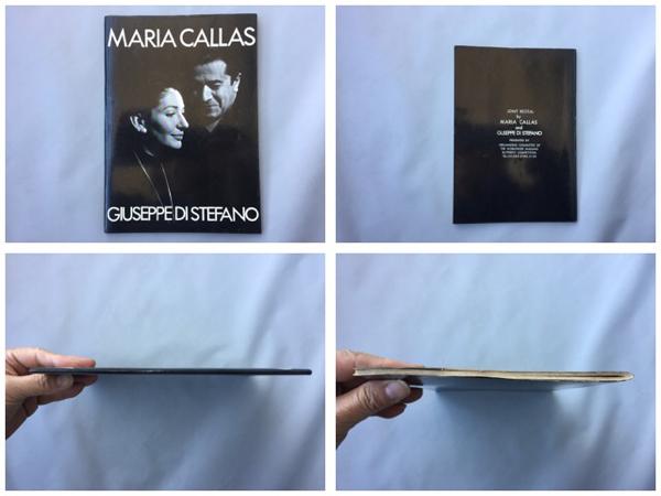 マリア・カラス&ジュゼッペ・ディ・ステーファノ 日本特別公演 ジョイント・リサイタル ・パンフレット 1974年
