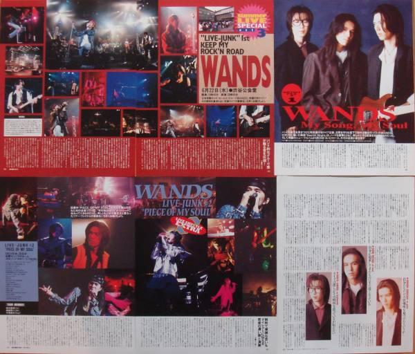 ★WANDS/上杉昇 柴崎浩 切り抜き 13ページ★