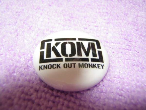RSRライジングサン2014 バッジ KNOCK OUT MONKEY