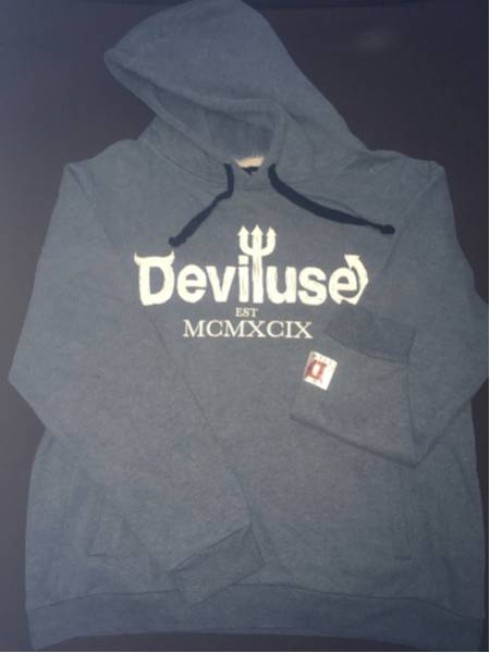 Deviluse parka Feather navy M デビルユース 限定 sim
