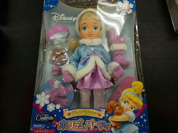 37cm☆シンデレラ☆リトルプリンセス☆ホリデーパーティー ディズニーグッズの画像