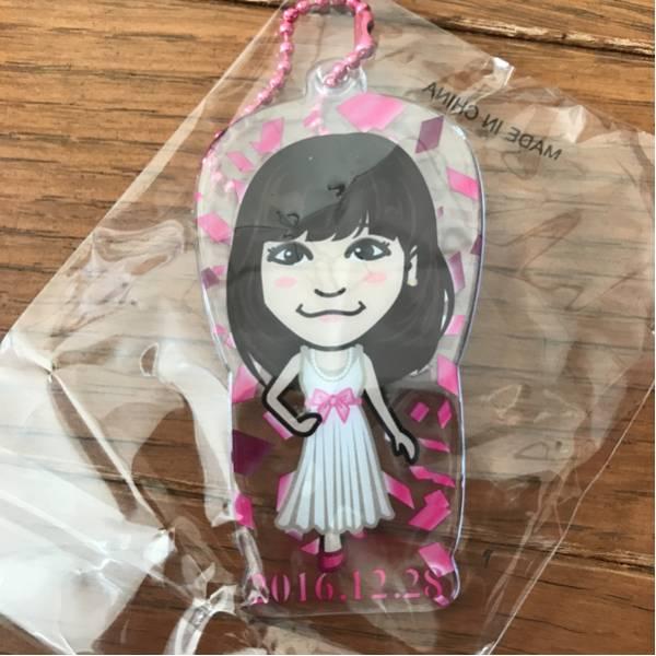 E-girls Flower 鷲尾伶菜 クリアチャーム デビューアニバーサリーガチャ ライブグッズの画像