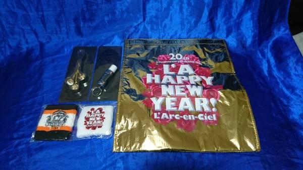 L'Arc~en~Ciel グッズ セット ストラップ リストバンド リップ 定形外500円 定額出品