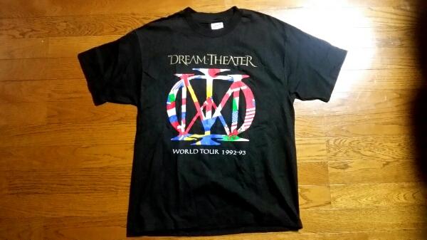 93年DREAM THEATERドリームシアター日本公演限定Tシャツ