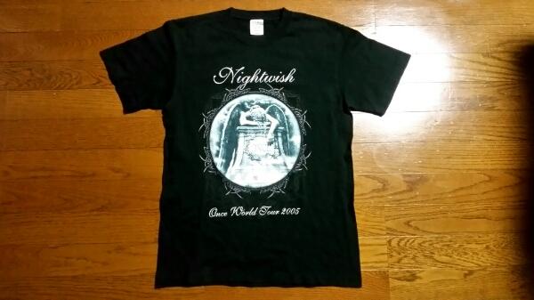 レア!NIGHTWISHナイトウィッシュ2005日本公演Tシャツ